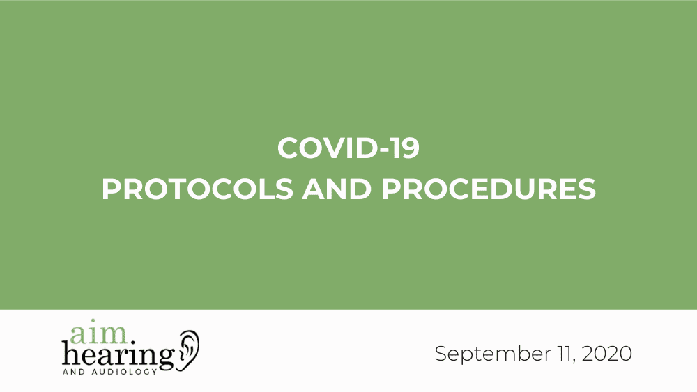 COVID-19 Protocols and Procedures