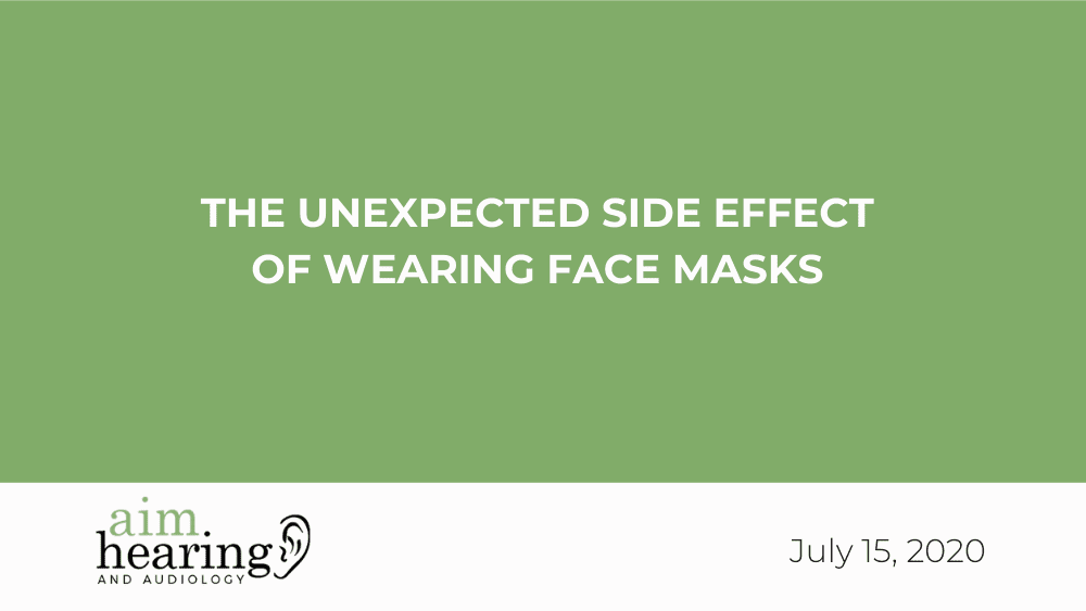 The Unexpected Side Effect of Wearing Face Masks